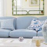 bebek mavisi ev dekorasyonu