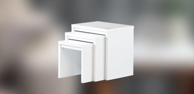 beyaz zigon sehpa modelleri