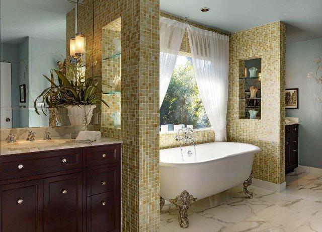 klasik banyo dekorasyonu modelleri