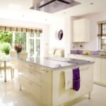 lila mutfak dekorasyonu