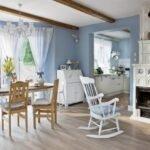 mavi beyaz ev modelleri
