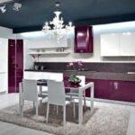 mor mutfak dekorasyonu modelleri