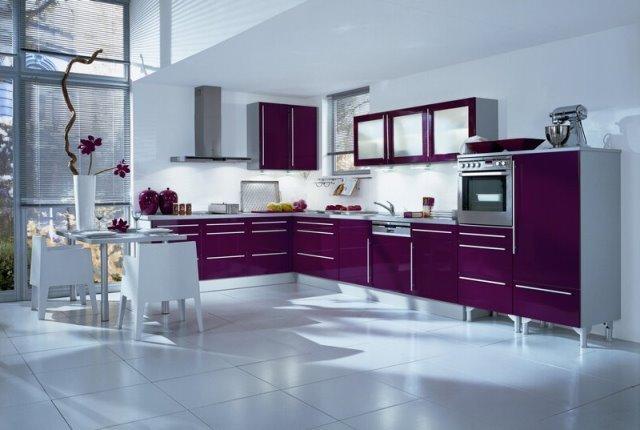 mor mutfak dolabı modelleri