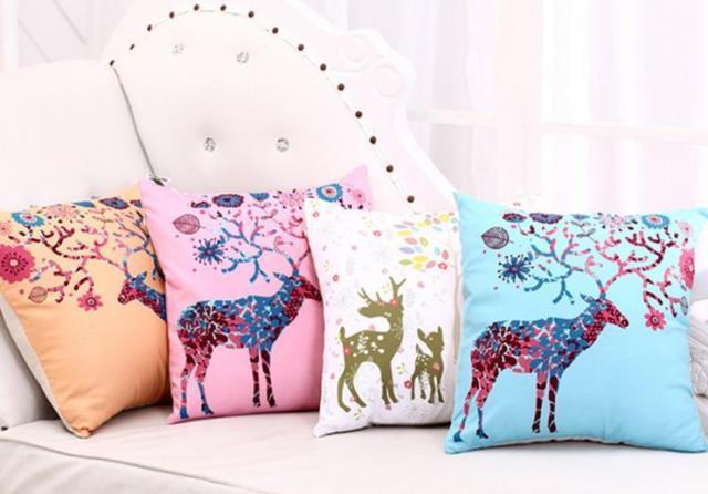 hayvan desenli yastık modelleri