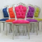 renkli klasik sandalye modelleri