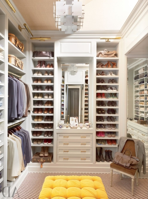 Giyinme Odası Dekorasyonu Modelleri