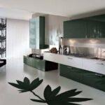 siyah beyaz mutfak modeli