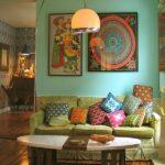 vintage salon dekorasyonu