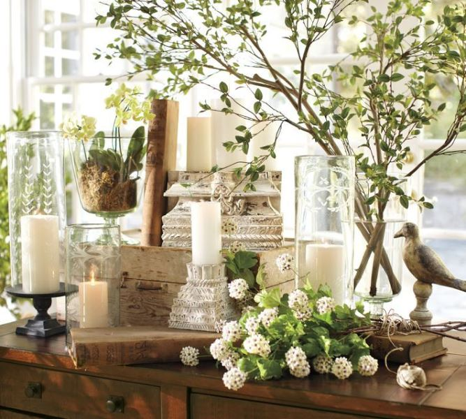 Bahar ev dekorasyonu