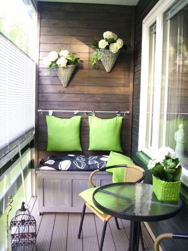 Güzel balkon dekorasyonu örnekleri