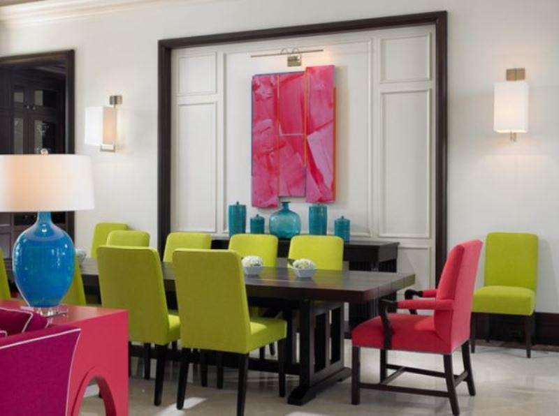 renkli ve en güzel ev dekorasyonu örnekleri