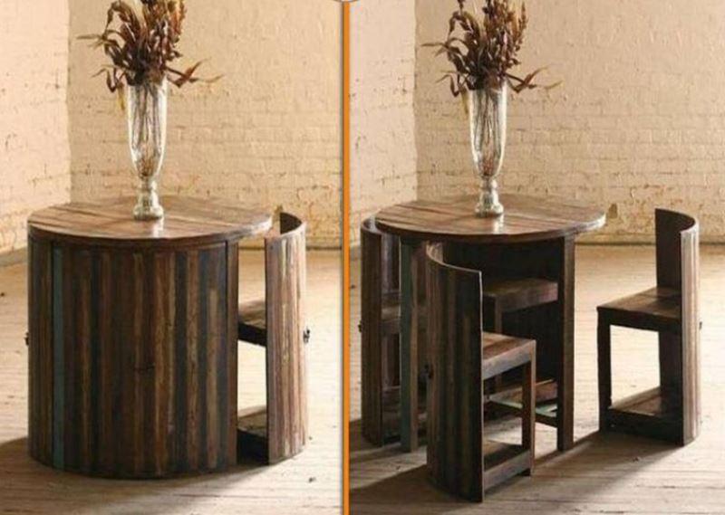 yerden tasarruf ettiren mobilyalar
