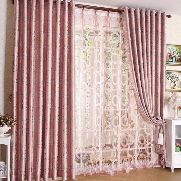 Yatak odası tül perde perde modeli