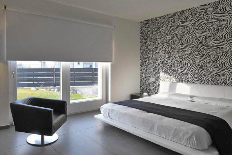 yatak odaları için stor perde modelleri