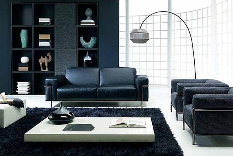 Siyah Mobilya Dekorasyonu