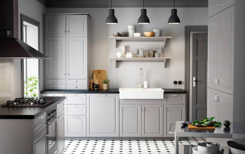 Mutfak dolaplarında pratik çözümler