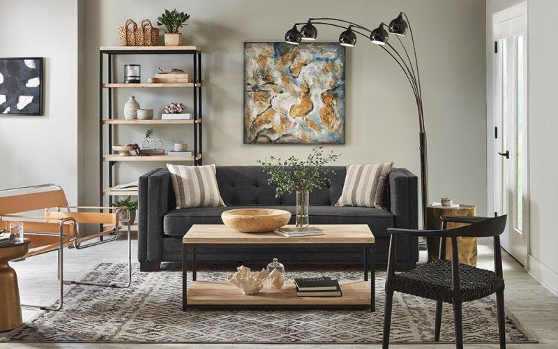 modern salon süslemeleri