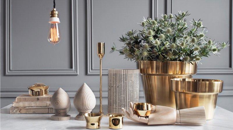 salon için modern dekoratif aksesuarlar