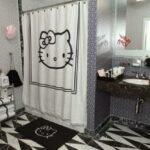 hello kitty li banyo perdesi modeli