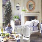 mavi beyaz ev dekorasyonu fikirleri