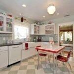 modern vintage mutfak dekorasyonu