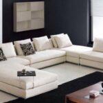beyaz modern koltuk modeli