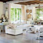 beyaz vintage ev dekorasyonu