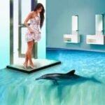 3D banyo zeminleri