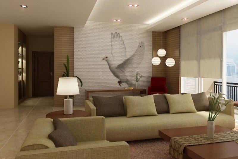 modern ev dekorasyonu resimleri